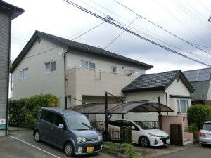 仙台市青葉区N様邸屋根塗装工事