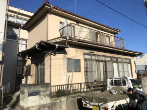 塩竈市F様邸屋根瓦葺き替えと外壁塗装工事