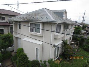 シリコンプラン(屋根塗装)仙台市泉区I様邸屋根塗装工事