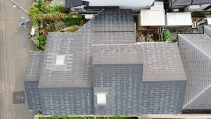 青葉区中山吉成O様邸屋根塗装工事