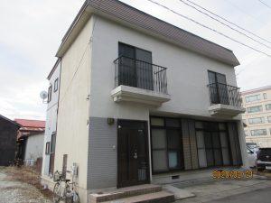 エスケープレミアムシリコンプラン 大崎市古川Y様貸家屋根外壁塗装工事