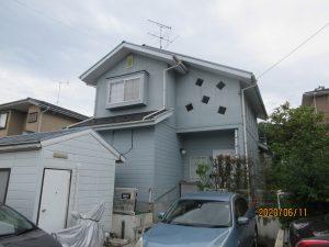 青葉区K様邸屋根外壁塗装工事