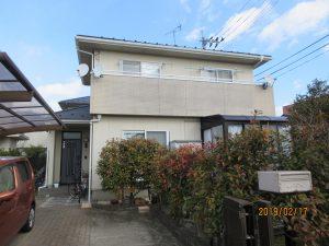 仙台市太白区K様宅屋根外壁塗装工事