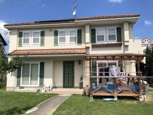 青葉区T様邸屋根外壁塗装工事