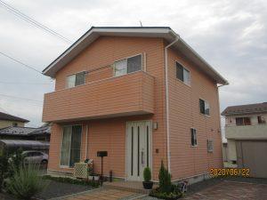 宮城県加美町F様邸屋根外壁塗装工事